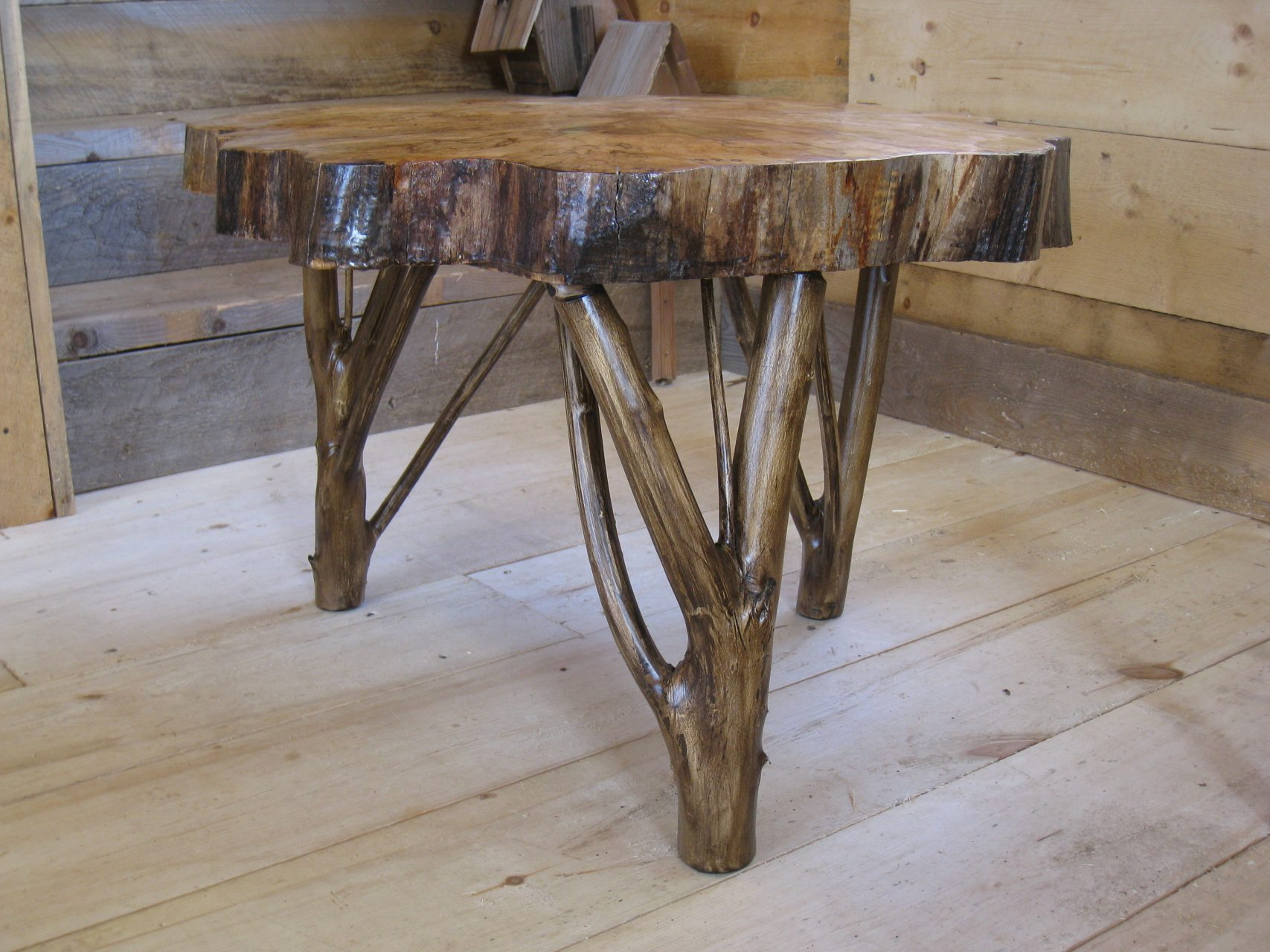 Rock maple coffee table $275.