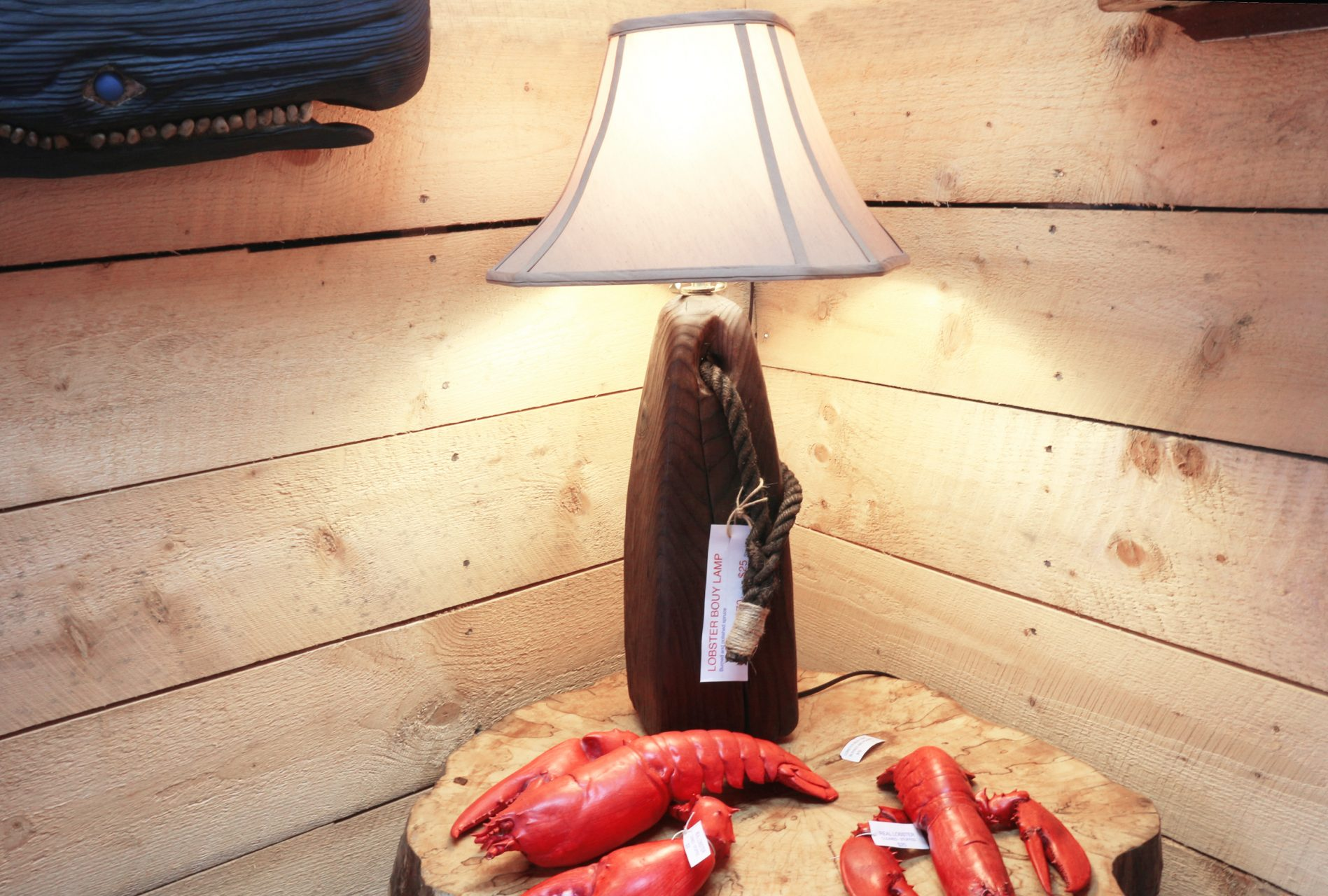buoy light, $70. shade $25.