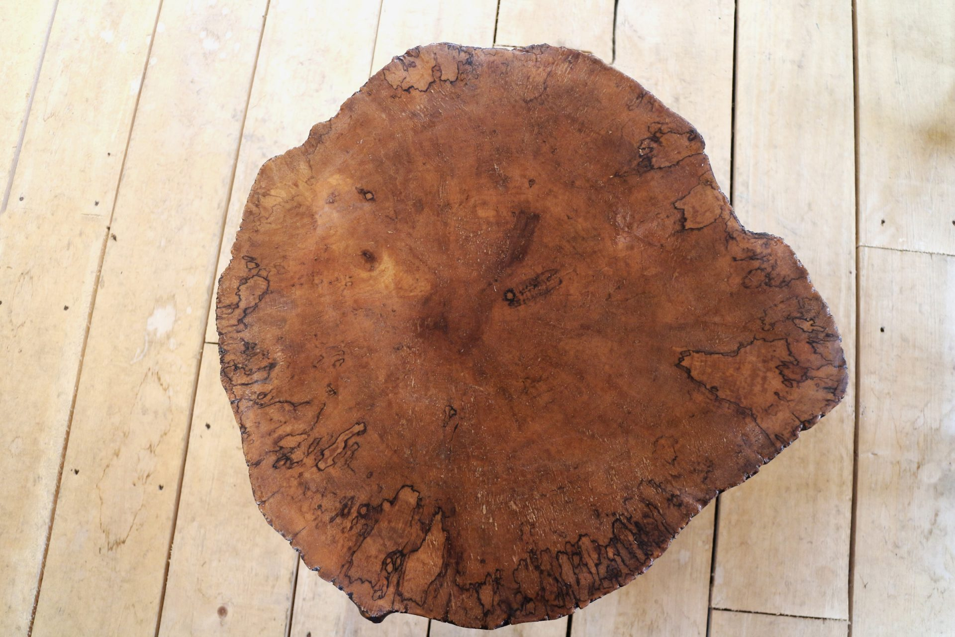 maple top of coffee table