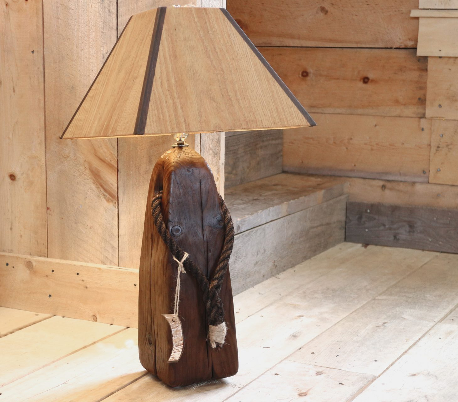 buoy light with wood shade,  $95. SOLD