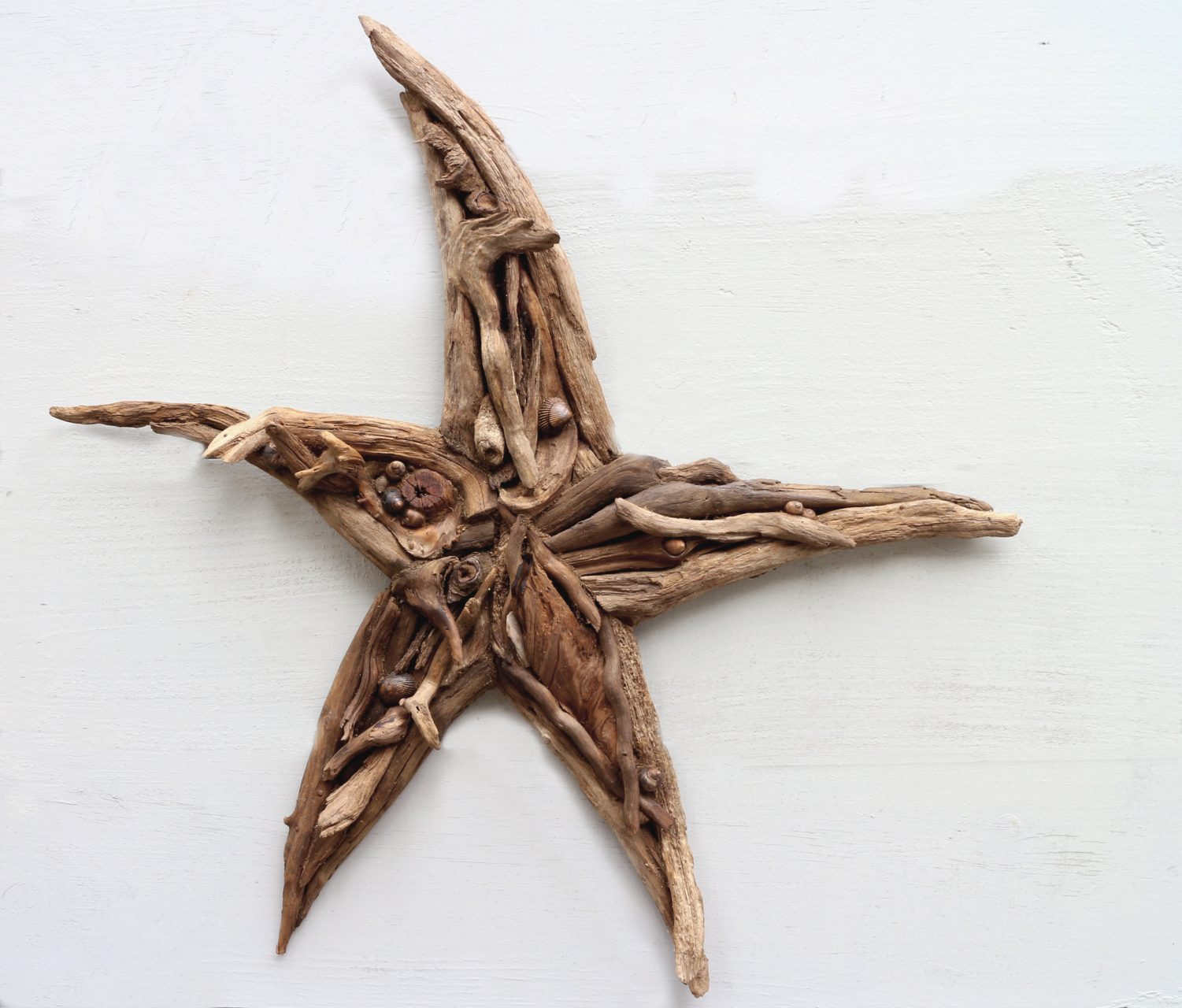 "driftwood "" twisted"" star,26"" $50. SOLD"